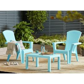 Argos Home Baltimore 2 Seater Bistro Set - Blue