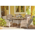 more details on Heart of House Argenta Rattan Effect 6 Seater Dining Set.