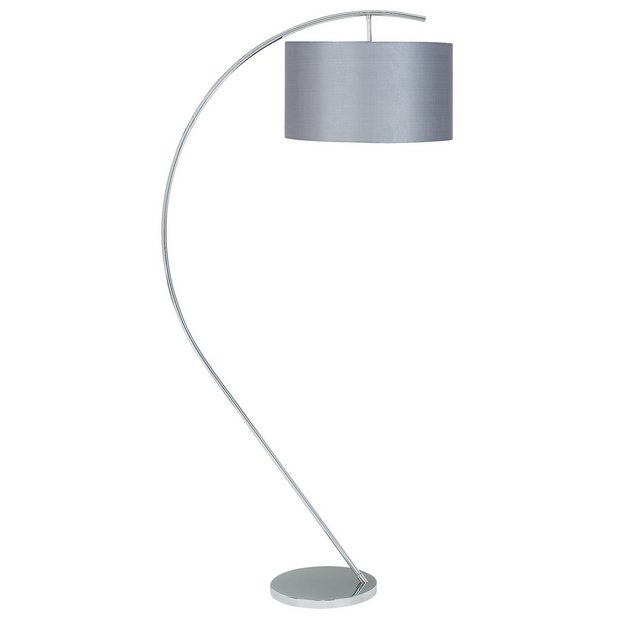 Buy heart of house bourne floor lamp grey at argoscouk for Floor lamp babies r us