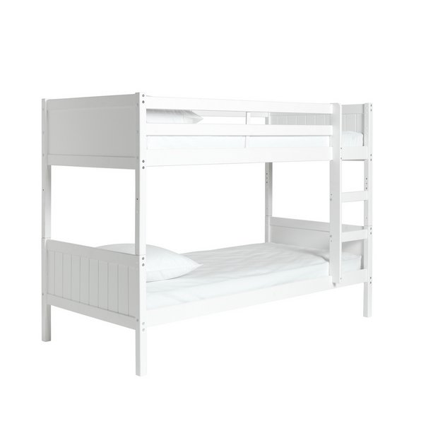Buy Argos Home Detachable Bunk Bed And 2 Kids Mattresses White Kids Beds Argos