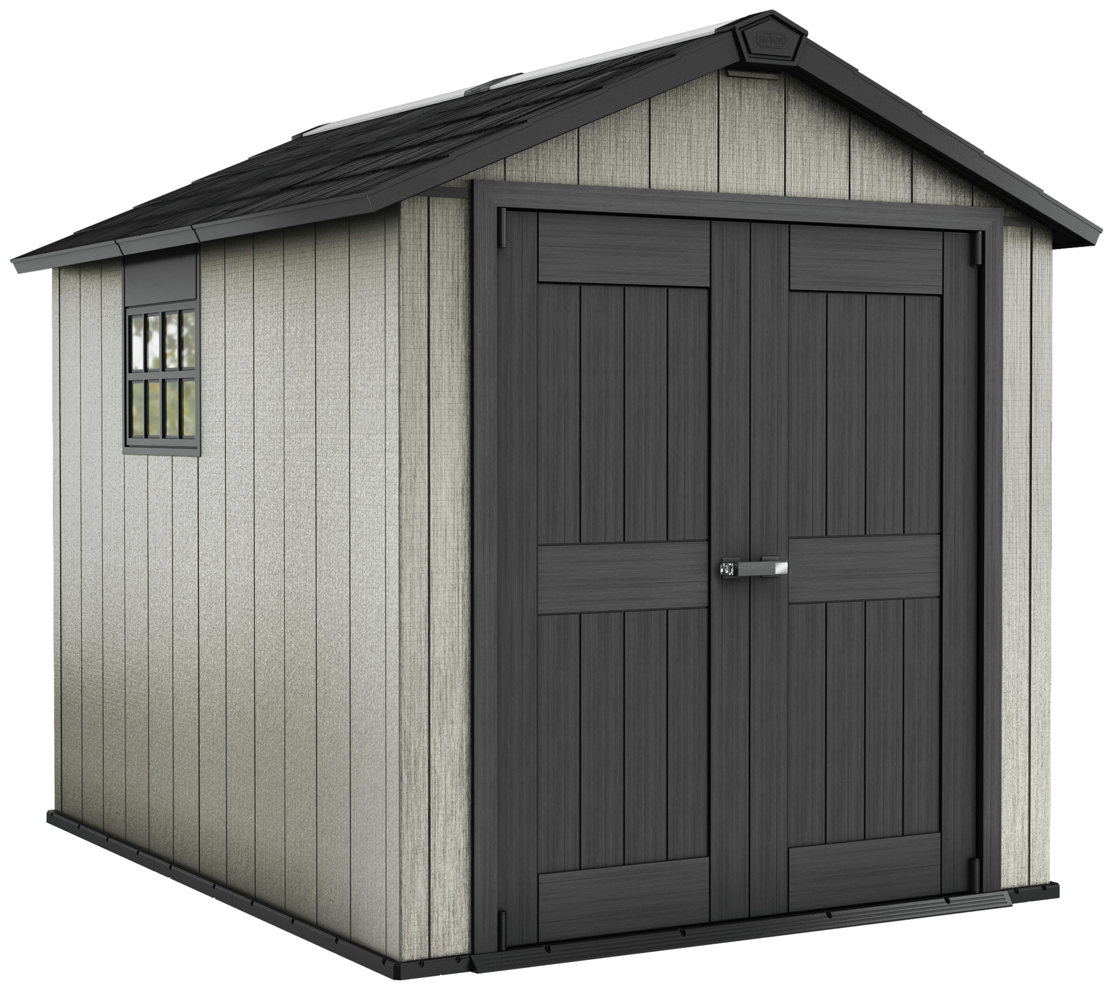 Awesome Buy Keter Oakland Plastic Garden Shed   7.5 X 9ft At Argos.co.uk   Your  Online Shop For Sheds, Sheds And Bases, Conservatories, Sheds And  Greenhouses, ...