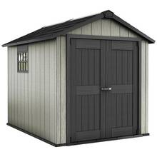 Keter Oakland Plastic Garden Shed - 7.5 x 9ft Best Price, Cheapest Prices