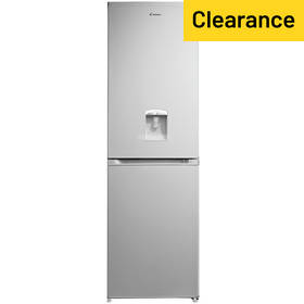Candy CCBF5182AWK Fridge Freezer with Water Dispenser-Silver