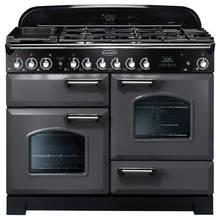 Rangemaster Classic Deluxe 110cm Dual Fuel Cooker - Slate
