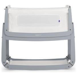 SnuzPod3 Bedside Crib - Dove Grey