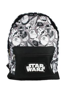 Star Wars Storm Trooper 6.7L Backpack - Black and White