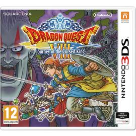Dragon Quest 8: Journey of the Cursed King Nintendo 3DS Game
