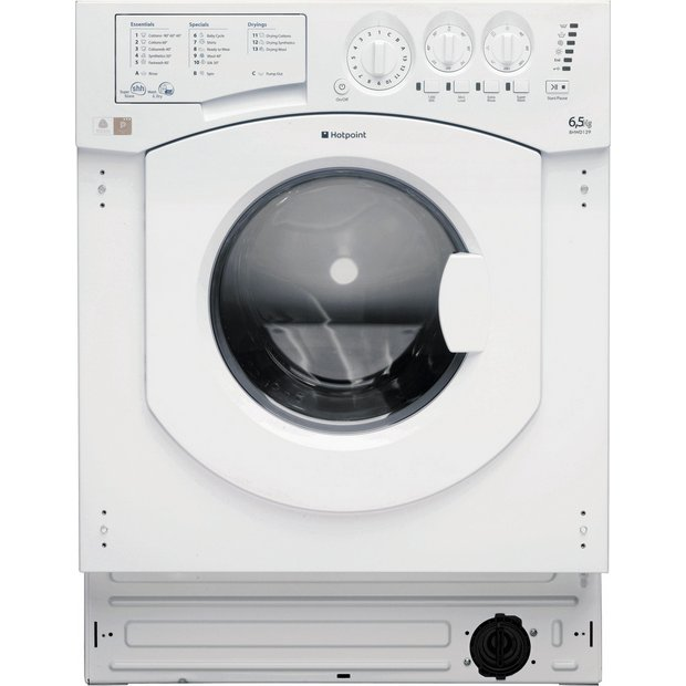 buy hotpoint bhwd1291 built in washer dryer white at. Black Bedroom Furniture Sets. Home Design Ideas
