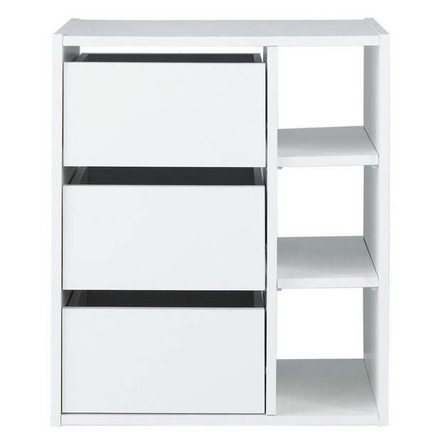 Buy home internal drawer and shelving unit at for Bedroom units argos
