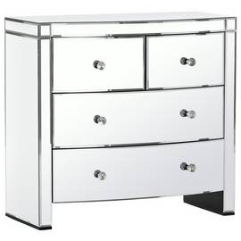 Argos Home Canzano 4 Drawer Mirrored Chest of Drawers