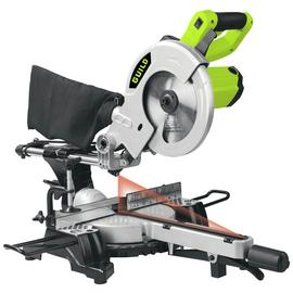 Guild 210mm Sliding Mitre Saw with Laser - 1700W. Best Price and Cheapest