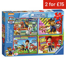 Puzzles and jigsaws argos ravensburger paw patrol 4x42 piece jigsaw puzzle gumiabroncs Images