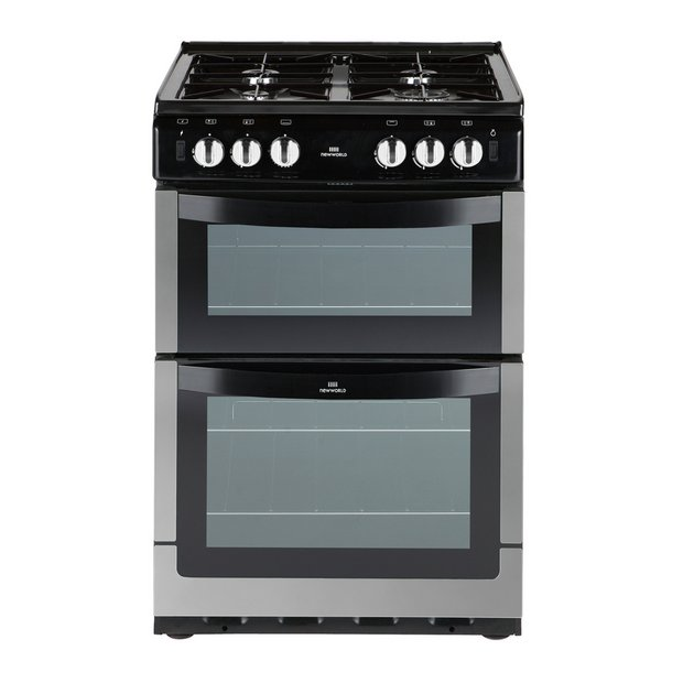 buy new world 551gtcss single gas cooker s steel at. Black Bedroom Furniture Sets. Home Design Ideas