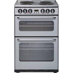 New World ES550DOMS Double Electric Cooker - Silver