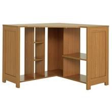 Argos Home Conrad Corner Desk - Oak Effect