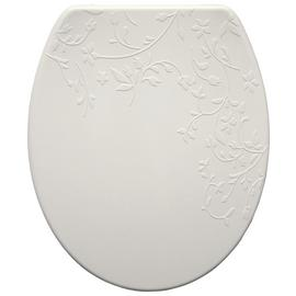 Bemis Fiore Thermoplastic Slow Close Toilet Seat - White
