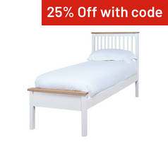Silentnight Montreal Single Bed Frame - Two Tone