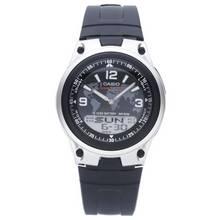 Casio Men's Black Resin Strap World Time Watch
