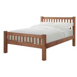 Silentnight Ayton Kingsize Bed Frame - Solid Oak