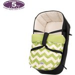 more details on Obaby Zeal Carrycot - ZigZag Lime.