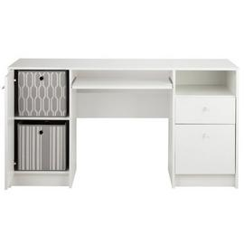 Argos Home Calgary 2 Drawer Double Pedestal Office Desk