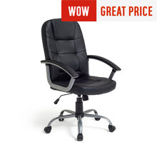 Walker Height Adjustable Office Chair - Black