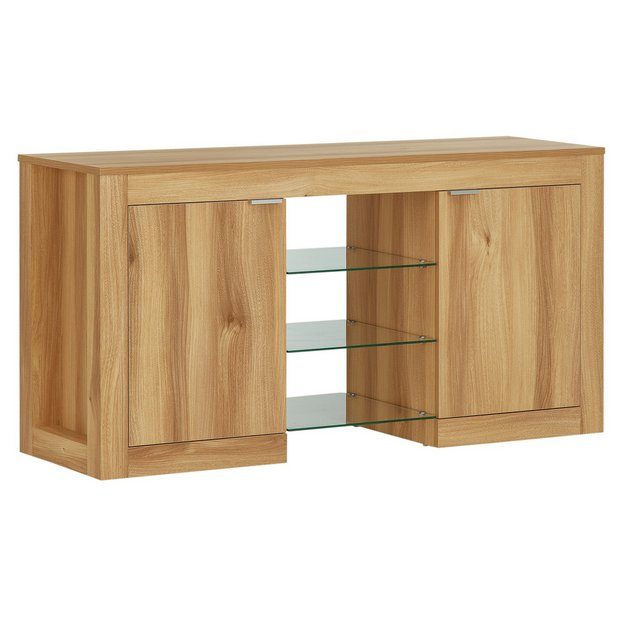 Buy Hygena Cubic 2 Door Low Sideboard At Your Online Shop For Sideboards And
