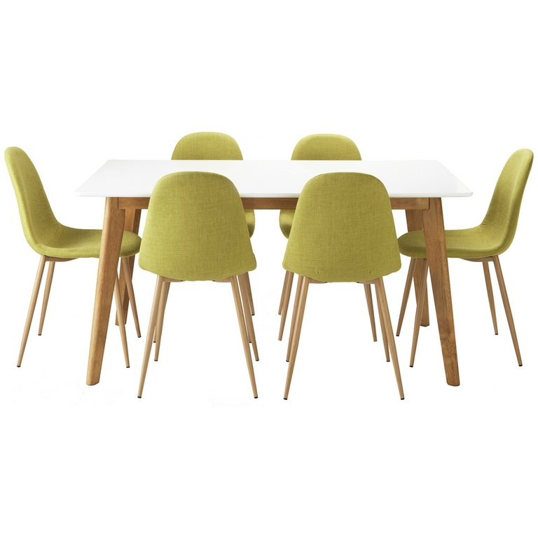 Buy Hygena Beni Dining Table and 6 Chairs Green at Argos  : 4823630RSETMain768ampw620amph620 from www.argos.co.uk size 620 x 620 jpeg 28kB