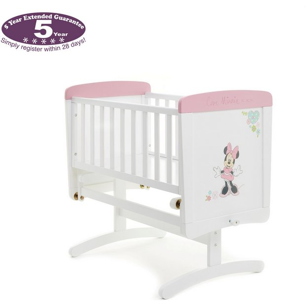buy disney minnie gliding crib mattress at. Black Bedroom Furniture Sets. Home Design Ideas