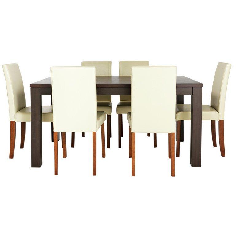Buy HOME Pemberton Walnut Veneer Dining Table amp 6 Chairs  : 4826400RSETMain768ampw620amph620 from www.argos.co.uk size 620 x 620 jpeg 24kB