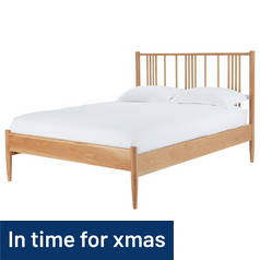 Silentnight Hamilton Kingsize Bed Frame - Light Oak