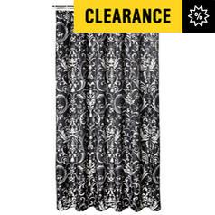 Shower curtains and poles bathroom argos shower curtains and poles gumiabroncs Choice Image
