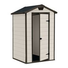 Keter Manor Plastic Garden Shed - 4 x 3ft