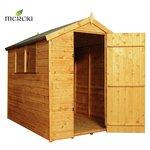 Mercia Shiplap Apex Wooden Garden Shed 7 x 5ft.