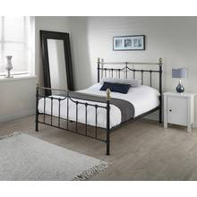 Silentnight Sydney Kingsize Bed Frame - Black