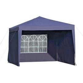 Argos Home 3m x 3m Pop Up Garden Gazebo with Side Panels