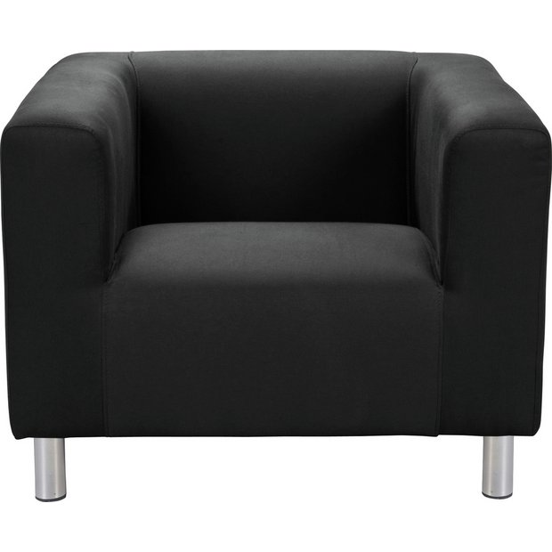 Buy home moda fabric chair jet black at your online shop for armchairs and Buy home furniture online uk