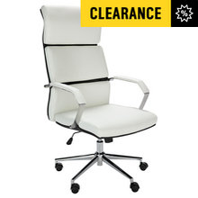 Hygena Jasper Adjustable Office Chair - White