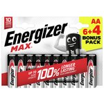 more details on Energizer Max AA Batteries - 6 + 4.