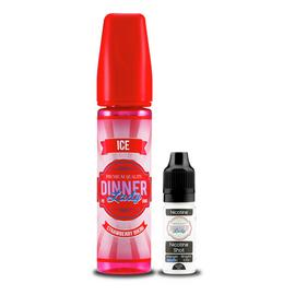 Dinner Lady E-Liquid Strawberry Bikini 50Ml With Shot