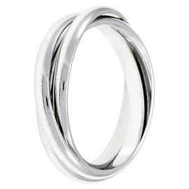 Revere Sterling Silver Three Band Ring