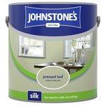 more details on Johnstone's Silk Emulsion Paint 2.5L - Pressed Leaf.
