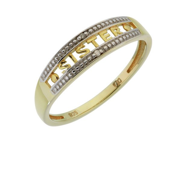 Gold Mum Ring Argos