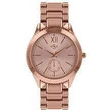 Spirit Ladies' Rose Gold Colour Dial Bracelet Watch
