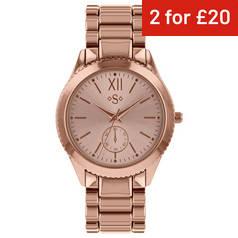 0227921dd40 Spirit Ladies  Rose Gold Colour Dial Bracelet Watch