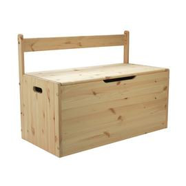 Argos Home Scandinavia Pine Extra Large Toy Box