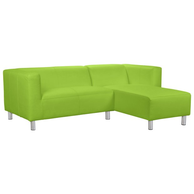 buy colourmatch moda fabric right hand corner sofa apple green at your online. Black Bedroom Furniture Sets. Home Design Ideas