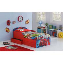 Spider Man Toddler Bed With Drawers