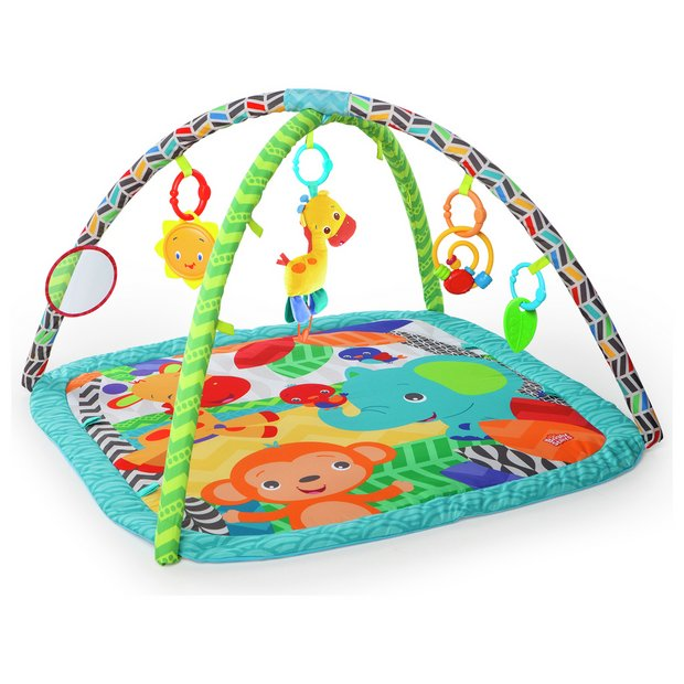 buy bright starts zippy zoo activity gym playmats and. Black Bedroom Furniture Sets. Home Design Ideas