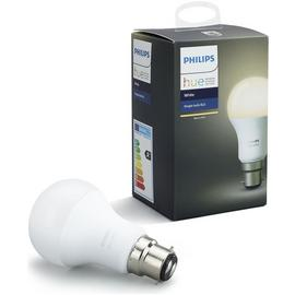 Philips Hue 9.5W LED White Wireless B22 Light Bulb